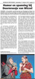 Recensie van Doornroosje in het Weekblad
